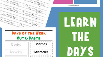 Are you working on teachingSpanish for kids? If so you will love these handy, free printableSpanish Days of the Week worksheets. Use these activities to learn the days of the week in Spanish with pre-k, kindergarten, first grade, 2nd grade, and 3rd graders.