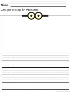 minion creative writing