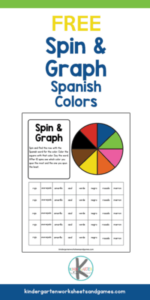 Spin and graph spanish colors