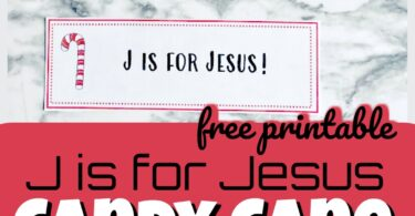 Help remind kids what the real meaning of Christmas is with this free printable J is for Jesus Candy Cane Scavenger Hunt. This is Christmas scavenger hunt for kids is fun for the whole family as an advent activities for families. Use this christmas activity for kids with toddler, preschool, pre-k, kindergarten, first grade, and 2nd grade students. Simply download pdf file with candy cane printable and you are ready to play!