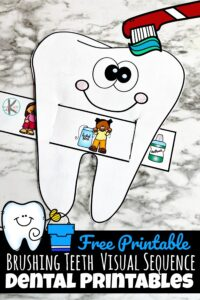 Dental health month activity for kids