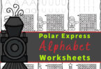 Help children practice their alphabet letters with these super cute, and FREE polar express worksheets. These polar express printables allow preschool, pre-k, and kindergarten to  practicing to identify both uppercase and lowercase letters with a festive letter find activity perfect for December. These fun, educational Christmas worksheets are a fun, engaging way to work on letter recognition this holiday season.