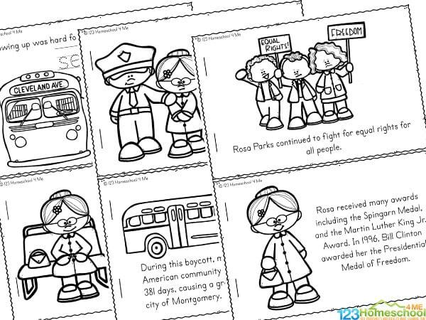 Rosa parks Worksheets