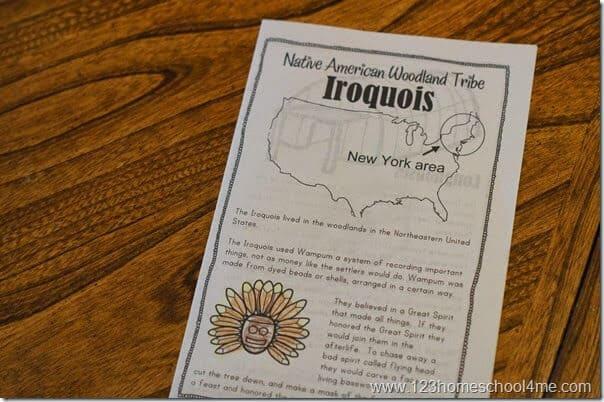 native american printables