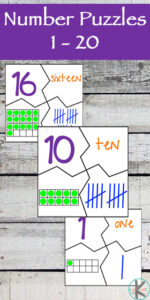 number sense printable puzzles