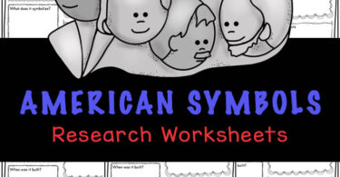Children will love learning about twelve different symbols of the united states with these fun and free printable american symbols worksheets. These us symbols worksheet are great for learning about the usa for kids. Grab these free printableunited states worksheets for first grade, 2nd grade, 3rd grade, 4th grade, 5th grade, and 6th grade students to make learning about America fun and easy!