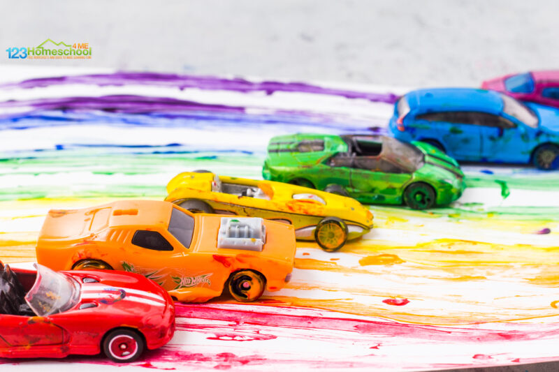Cars Activities for Preschoolers