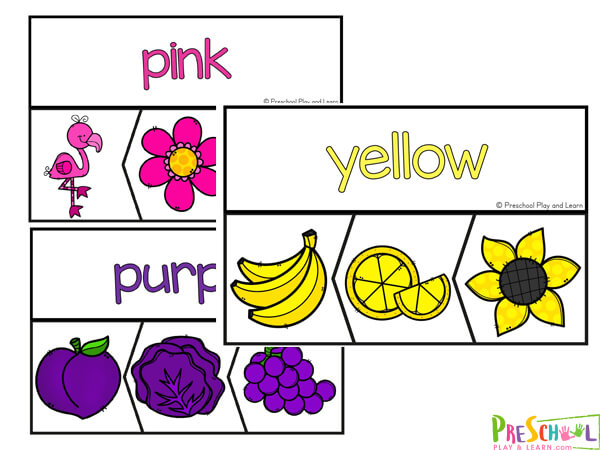 Color Activity for Toddlers