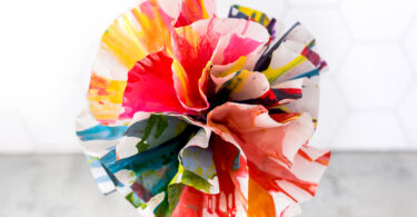 Flower art preschool