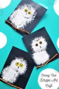 Snowly owls are so beautiful and kids go nuts over the cute snowy owl babies! Although they live in the arctic, they have been seen as far south as Tennessee and Georgia. Whether you get a chance to see one in person, are looking for a cute winter craft for kids, or are doing anowls theme. This adorableowl craft is a must! Thissnowy owl craft for kidsis a fun project for toddler, preschool, pre-k, kindergarten, first grade, and 2nd grade students. Thisowl crafts for kidsis fun and easy to make this January!