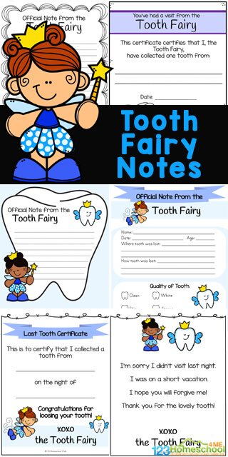 All young children lose their baby teeth. That is 20 teeth per child. Make loosing your teeth fun by adding one of these handy, free tooth fairy letterprintable. We have various templates oftooth fairy notes to choose from for preschool, pre-k, kindergarten, first grade, 2nd grade, 3rd grade, and 4th grade students. From tooth fairy certificates to tooth fairy apology letters - we have 15 pages to choose from filled with cute clipart of teeth, pretty tooth fairies, and more. Simply download pdf file with Tooth Fairy Letter Printablesand you are ready to make the lose of a tooth memorable!