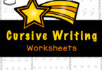 These no-prep Cursive Writing Worksheets are a great way for children in third grade, 4th grade, and 5th grade students to practice and improve their handwriting skills. You will love that these cursive writing practice pages are a free printable to print and go anytime you need practice with 3rd grade printables. Simply download pdf file with cursive writing worksheets pdf and you are ready for learning to write in curse.
