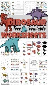 dinosaur worksheets
