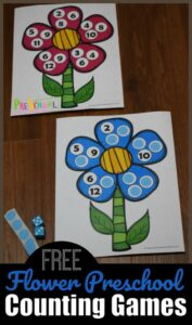 flower counting game