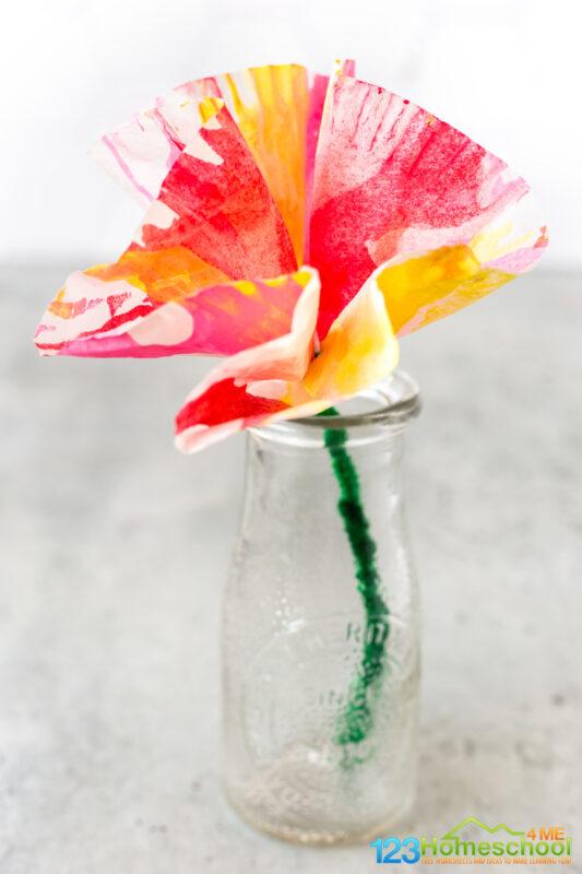 flower craft for preschoolers