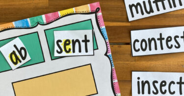 Help your first grader learn about open and closed syllables with this fun, hands-on free printable reading activity. This first grade activity helps students improve reading and spelling skills as they learn to identify open closed syllables. Simply download pdf file with Open and closed syllable sort and have fun reading and learning with your grade 1 student.