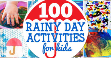 things to do in the rain! We've got over 50 fun, engaging rainy day activity for kids to try! From rainy day crafts to  rainy day activities - we've got so many creative things to do on a rainy day. Get ready to have the BEST day ever with these things to do on a rainy day at home with toddler, preschool, pre-k, kindergarten, first grade, 2nd grade, 3rd grade, 4th grade, 5th grade, and 6th grade students!