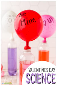 This super cute and simple Valentines Day Science Experiment is sure to impress your kids. Leave your toddler, preschool, pre-k, kindergarten, first grade, and 2nd graders a secret message to be revlealed in the valentines day activity. This valentines day science idea is outrageously fun and EASY to try this February!