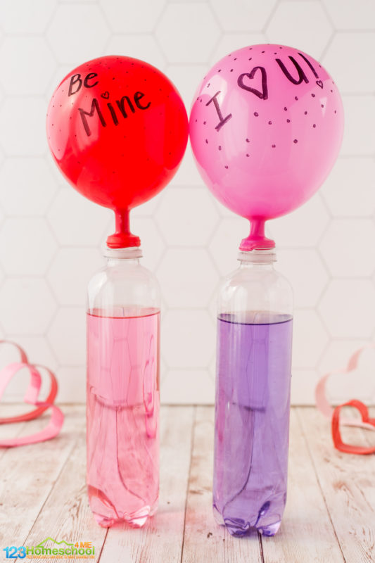 valentines day science experiment for kids
