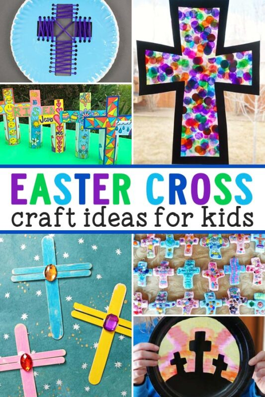 Easter Cross Crafts  Celebrate a Christ centered Easter with these beautiful Easter cross crafts.