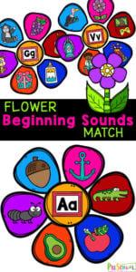 Flower Beginning Sounds Activity