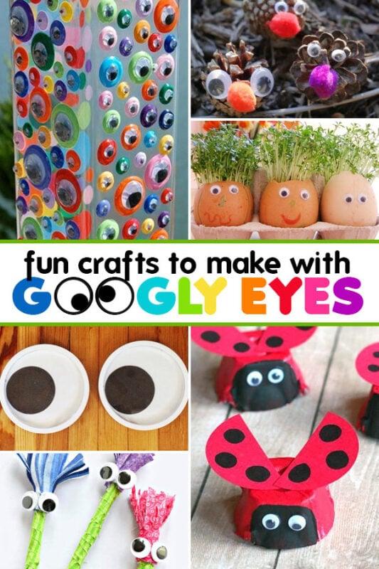 Googly eyes crafts