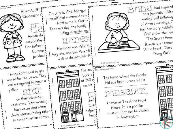 facts about anne frank