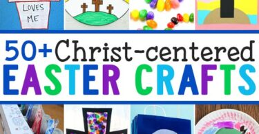 ? Celebrate the resurection with these Jesus Easter crafts! LOTS of religious easter crafts for kids including prettycross craftideas for all ages!