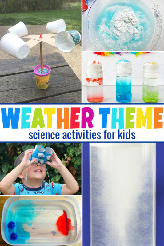 Weather Science Experiments Help kids understand why tornados form, why it rains, and more with these weather experiments for kids.