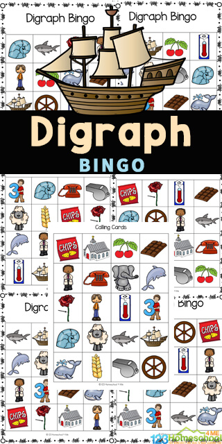 Make practicing digraphs fun with this super cute, free printable Digraph Bingo. This Digraph game is a fun bingo game perfect for helping elementayr age students in first grade, 2nd grade, 3rd grade, and 4th grade practicing learning digraphs with a fun twist! Simply download the phonics game pdf file with the and you are ready to play and learn with adigraph activity!