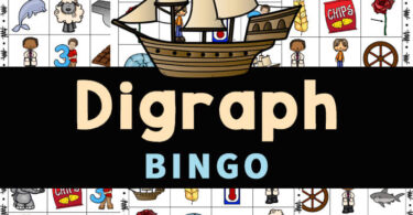 Make practicing digraphs fun with this super cute Digraph Bingo. This Digraph game is a LOW PREP digraph activity for improving phonics skills!