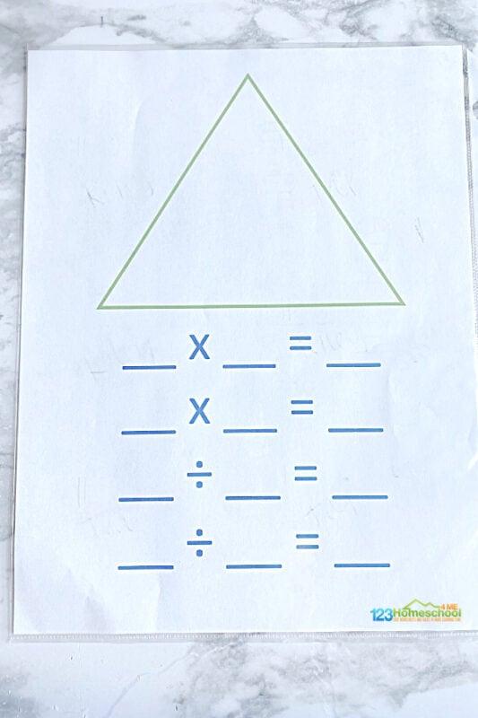 Division printables