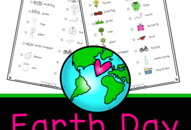 Celebrate recycling, conservation, and nature with Printable Earth Day Scavenger Hunt. This Earth Day activity is fun for kids of all ages on April 22nd.