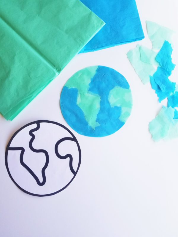 Earth printable
