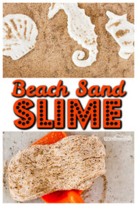 Super funsand slime recipethat is quick and easy-to-make for your beach theme or a summer activity for preschoolers. You will LOVE thisbeach slime!