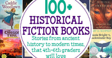 Learn about history with fun and exciting historical fiction for kids. These historical fiction books for kids are the best way to get kids excited about history. Vivid stories make the sights, sounds, and feelings of that moment in history come alive. Kids won't even realize they are learning because they will be having so much fun enjoying a really great story! We havehistorical fiction children's booksfor kindergarten, first grade, 2nd grade,historical fiction books for 3rd graders, 4th grade, 5th grade, and 6th grade students. Thesechildren's historical fiction cover ancient civilizations, middle ages, early explorers, colonial america, world war 1, and more!