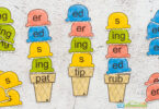 kindergarten word endings