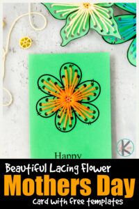 Whether you are looking for a cute fine motorflower craftto celebrate spring and summer or a beautifulmothers day card to make - thisprintable flower template is beautiful. Simply download printable mothers day card to color pdf,grab a waggon wheel pasta noodle, some yarn/thread, and a hole punch to make this prettymothers day gift from kids. This is sich a unique and beautifulmother's day card template that Mom will be excited to get.