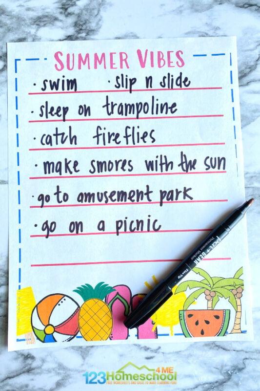 Bucket list ideas for teens