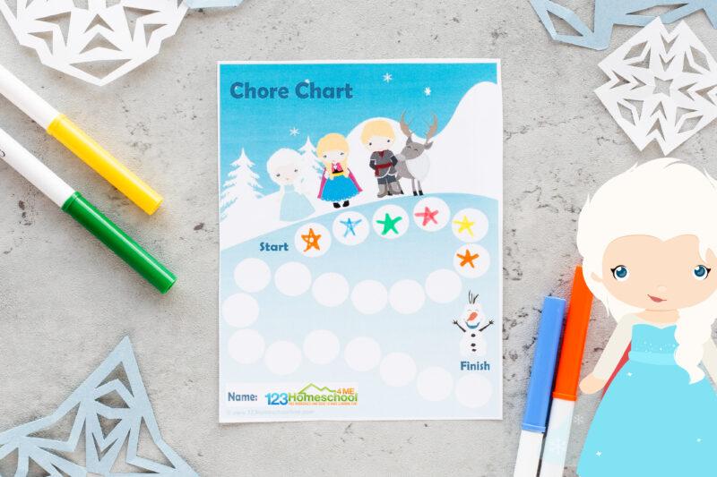 Childrens reward chart
