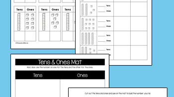 Make learning about place value: tens and onessimple with these NO PREP, free printable kindergarten math worksheets. Kindergartners will practice adding up tens and ones as they learn about place value in simple two-digit numbers. Theseplace value worksheets are are great print and go math for summer learning, math centers in the classroom, extra practice at home, or homeschoolers. Simply download tens and ones worksheets pdf and you are ready to sneak in some fun practice withtens and ones worksheets.