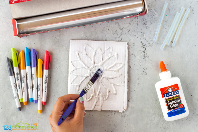 Tin Foil Art Projects