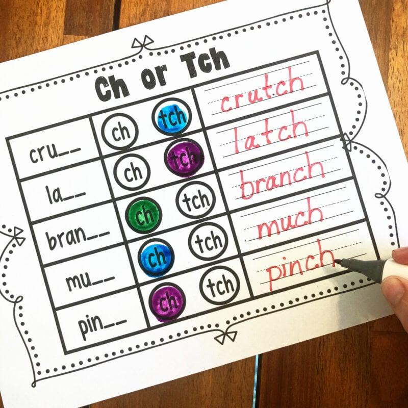 ch or tch