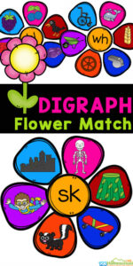 This super cute, handson digraph activity is a fun way for early readers to identify digraphs for kids! In these flower digraph gamesstudents will make flowers by matching the petals to the digraph. This digraph kindergartenis way better than boring digraph worksheets! Simply download pdf file with digraph activities for first grade.