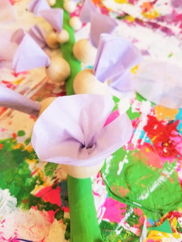 flower making ideas