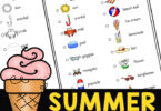 Gets some fresh air and exercise with this NO PREP, summer activity for kids! Download pdf file with FREE Summer Scavenger Hunt. for kids!