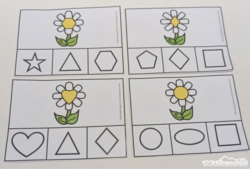 printable 2d shapes