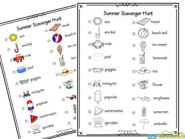 summer activity for kids