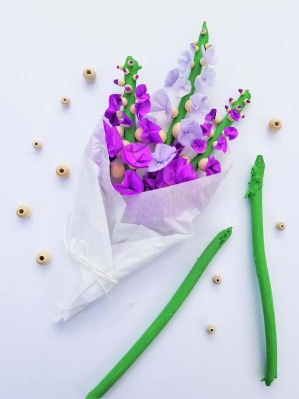 tissue paper flowers for kids