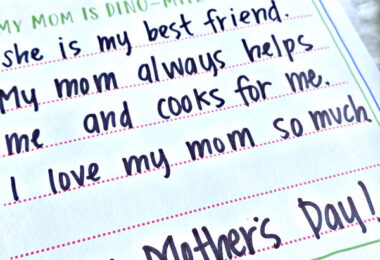 Mothers Day Writing Prompt